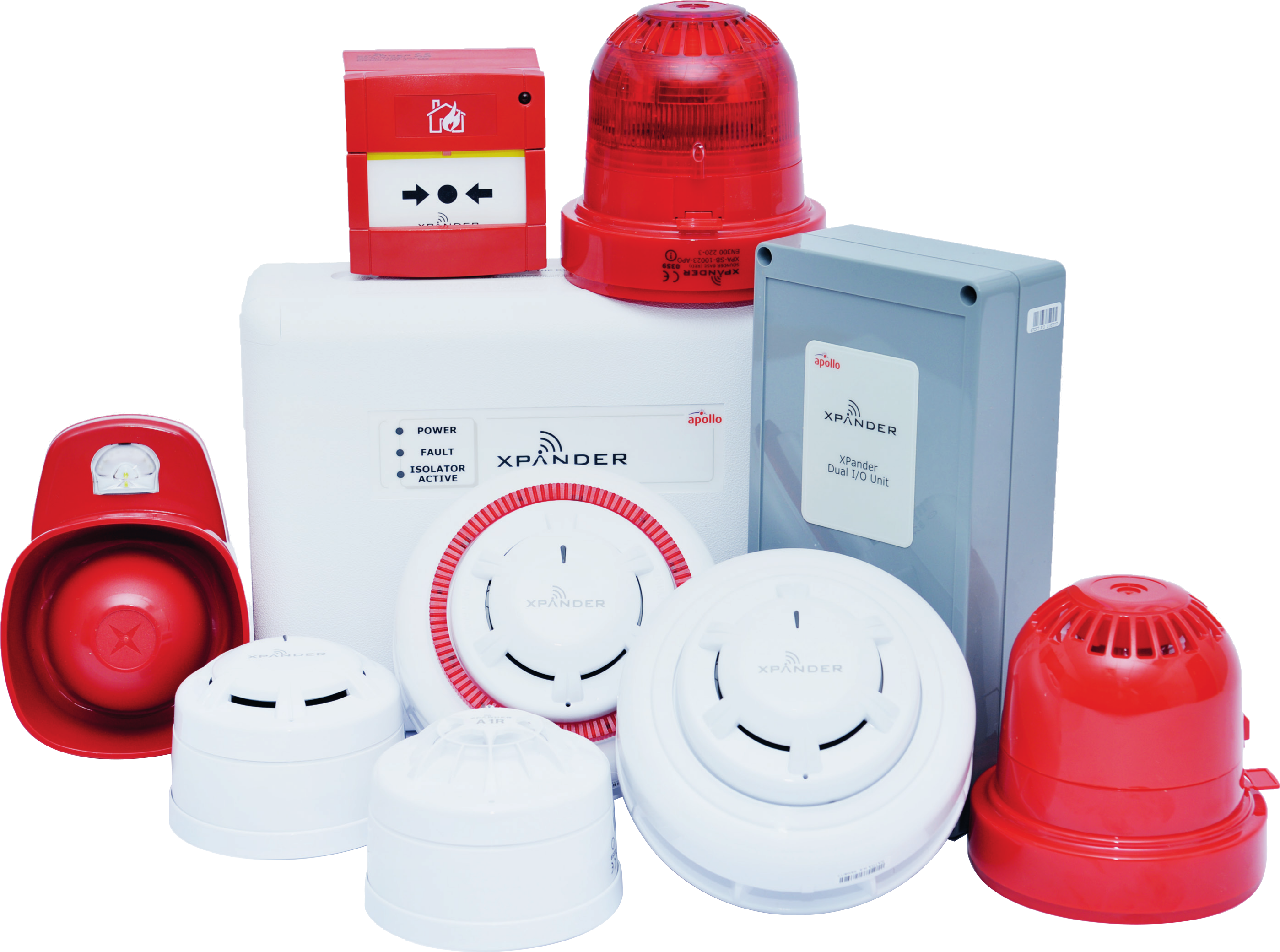 wireless fire alarm XPander Group RFC Fire And Security Systems Development Site