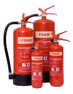 buy foam fire extinguishers surrey london 234x300 1