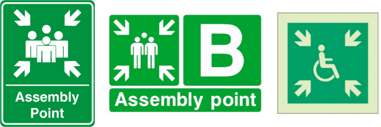 fire assembly point safety signs 768x256 1 RFC Fire And Security Systems Development Site