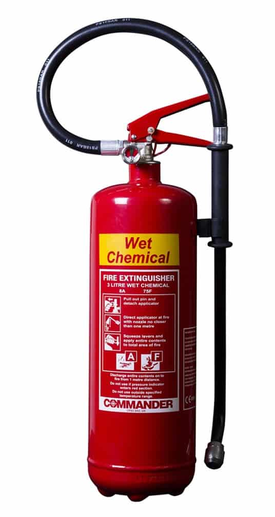 fire extinguisher colours wet chemical fire RFC Fire And Security Systems Development Site