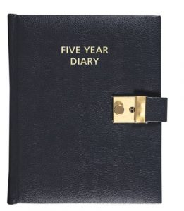 five year diary 261x300 1 RFC Fire And Security Systems Development Site